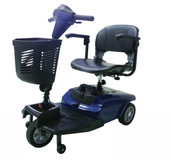 Blue Dart 3 Wheel Compact Scooter - dartbl3