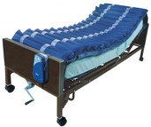 "5"" Med Aire Low Air Loss Mattress Overlay System with APP - 14025n"