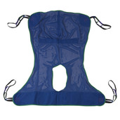 Full Body Patient Lift Sling with Commode Cutout - 13221l