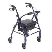 Mimi Lite Flame Blue Rollator Walker - 544