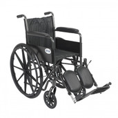 Silver Sport 2 Wheelchair with Elevating Foot Rest - ssp218fa-elr