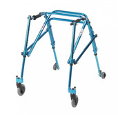 Youth Nimbo Rehab Lightweight Cornflower Blue Posterior Posture Walker - ka 3200n