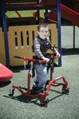 Pediatric Comet Red Anterior Gait Trainer - co 2100