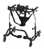 Adult Comet Black Anterior Gait Trainer - co 2000