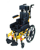 Yellow Kanga TS Pediatric Tilt In Space Wheelchair - kg 1000