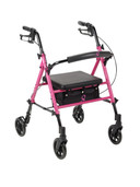 ACS Aluminum rollator. Fold Up, Universal Seat Heights RTL10261BC