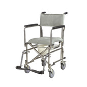 Stainless Steel Rehab Shower Chair Commode - rs185003