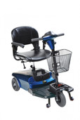 Blue Bobcat 3 Wheel Compact Scooter - s38601