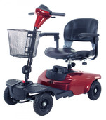Red Bobcat 4 Wheel Compact Scooter - s38650