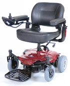 Power Wheelchair Red Cobalt X23  - cobaltx23rd16fs