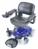 Power Wheelchair Blue Cobalt Travel - cobaltbl16fs