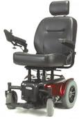 Heavy Duty Power Wheelchair  Red Medalist- medalist450rd24cs