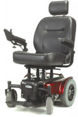 Red Medalist Heavy Duty Power Wheelchair - medalist450rd22cs