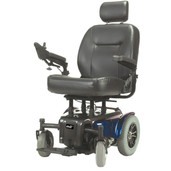 Heavy Duty Power Wheelchair, Blue - medalist450bl22cs