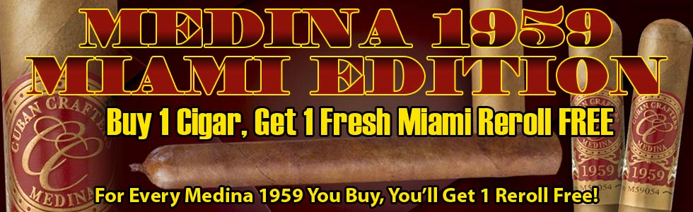 Medina 1959 Miami Cigars