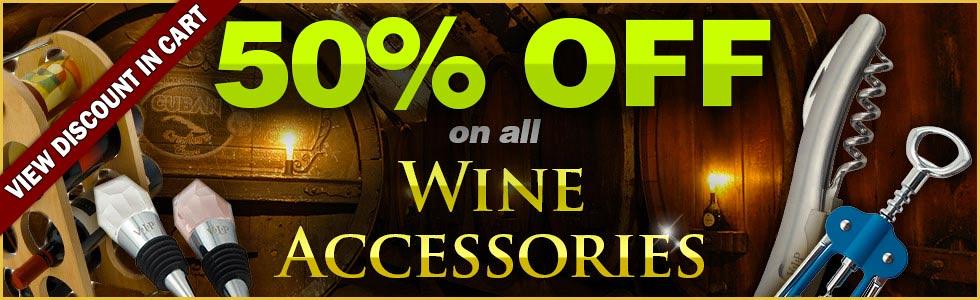 Wine Accessories Sale Banner
