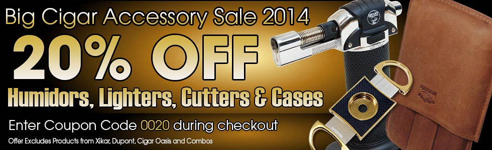 Cigar Accessories Sale