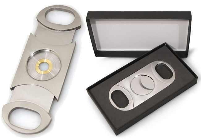 Perfect Cigar Cutter Dos Chabetas is for large cigars with up to 80 ring gauge