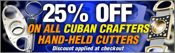 Cigar Cutter Sale 25% Off