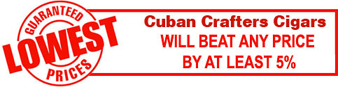 Cuban Crafters Cigars Lowest Prices Guarantee