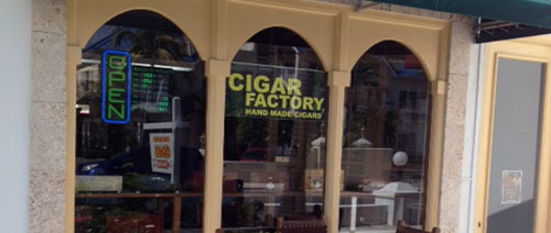 Turks and Caicos Cigar Shop and Factory