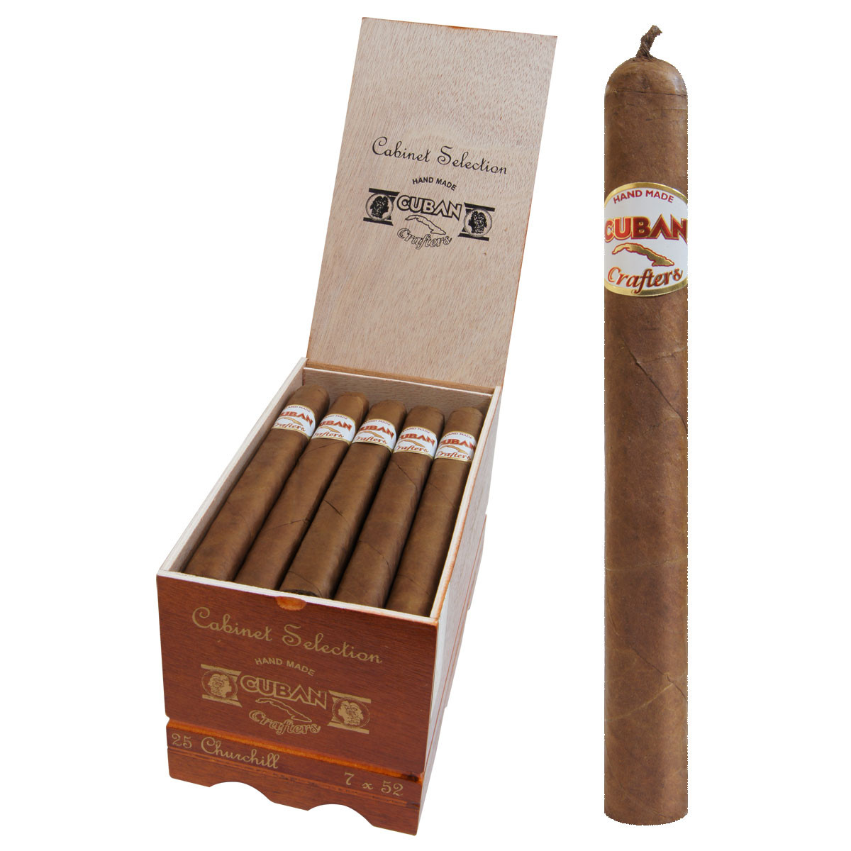 Cigars Factory Direct Cuban Crafters Churchill Cigar. Loading Zoom