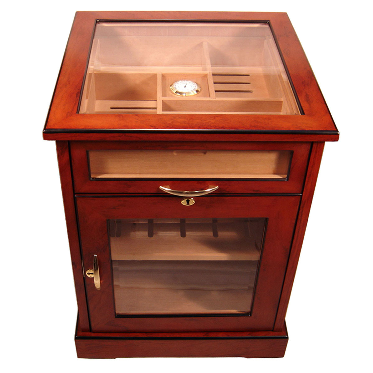 Loading zoom  sc 1 st  Cuban Crafters & Cabinet Humidors End Table Humidor - CUBAN CRAFTERS