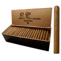 LA CAYA HABANOS II TORO CONNECTICUT - BOX OF 100 CIGARS - MILD - 6 X 50