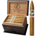 Don Kiki White Label Torpedo Cigars Limited Edition First Cigar From Harvest of 2005 6 1/2 x 54 Cedar Cabinet of 20