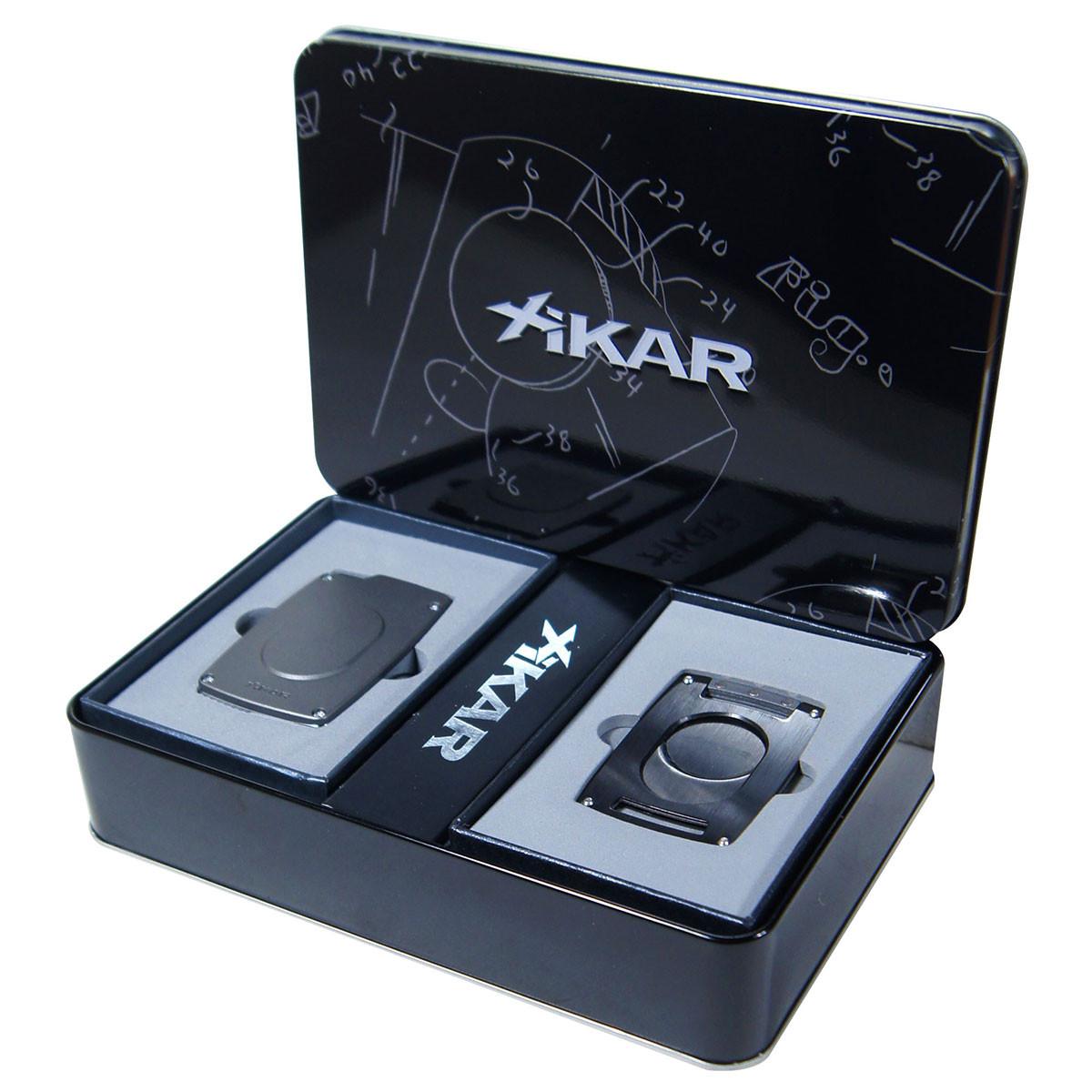 xikar cigar cutter ultra slim gunmetal gift set cubancrafters