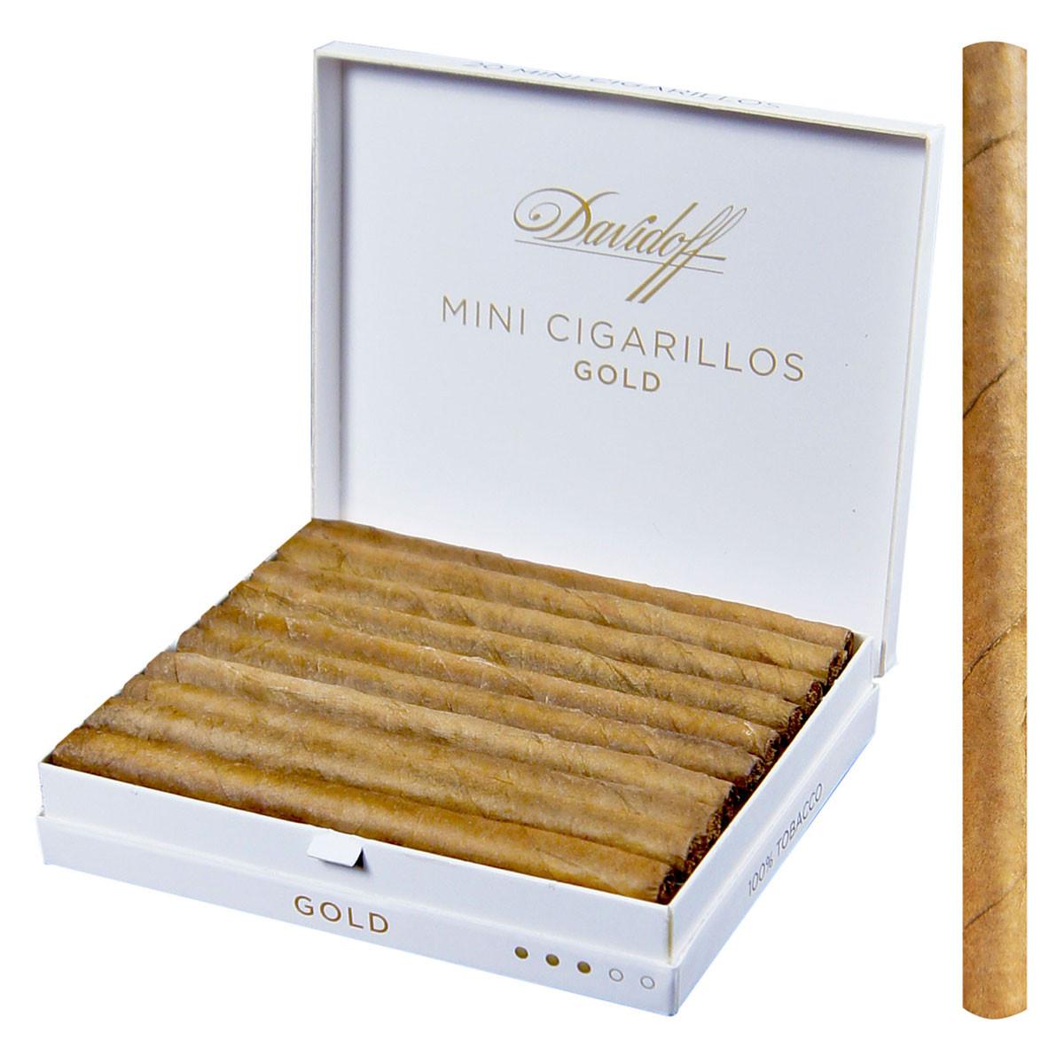 Image 1. Loading zoom  sc 1 st  Cuban Crafters & Davidoff Mini Cigarillo Gold Cigar Box of 20 - CUBAN CRAFTERS Aboutintivar.Com