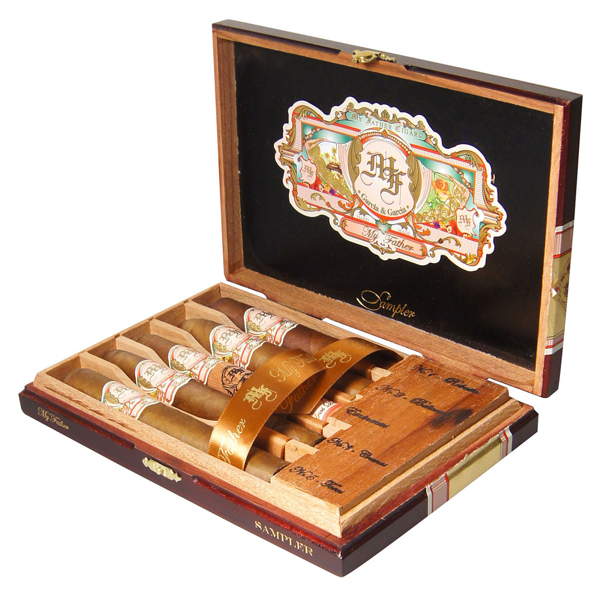 My Father Selection Cigar Sampler Gift Set Various Box of 5 Cigars