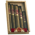 MIAMI SAMPLER PACK - ALL 5 CIGAR SIZES OF MEDINA 1959 MIAMI EDITION CIGARS - CEDAR BOX OF 5 - GREAT GIFT
