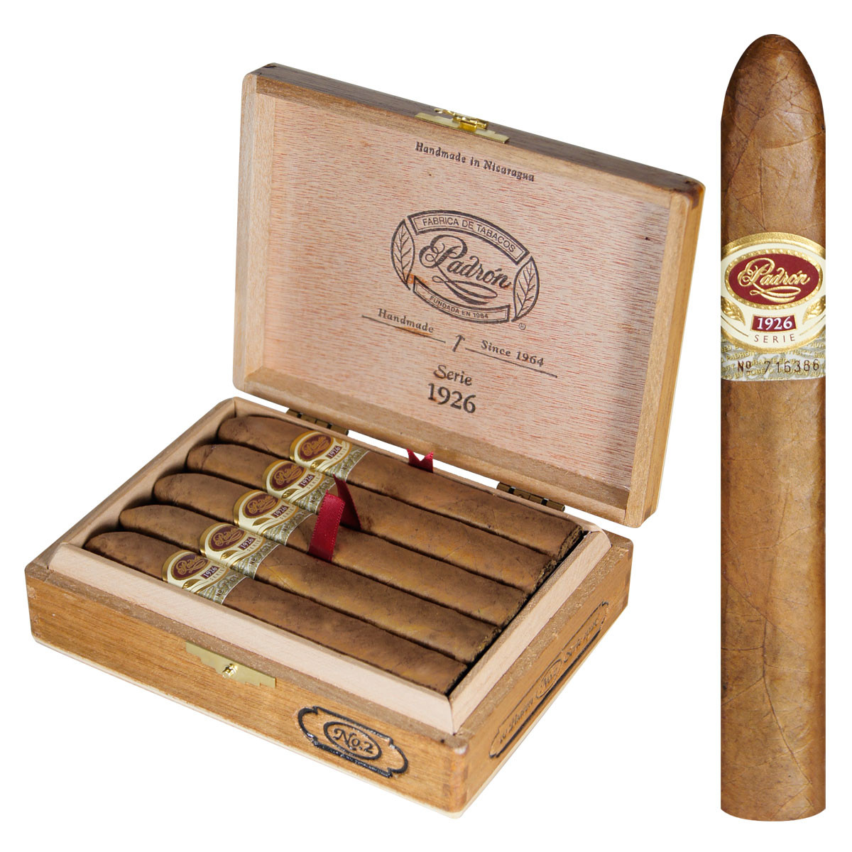 Image result for padron 1926 no 2