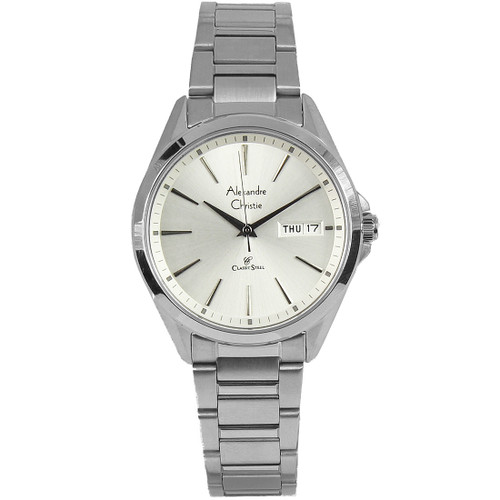 8588LDBSSSL Alexandre Christie Classic Steel Watch