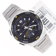 Casio Black Dial Tough Solar Mens Watch AQ-S800WD-1EVDF AQS800WD