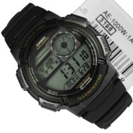 Casio Quartz Alarm Illuminator Sports Watch AE-1000W-1A