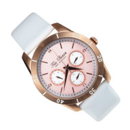 Ted Baker Analog Quartz Round Dial Ladies White Dress Watch TE2102