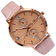 Ted Baker Quartz Analog Gold Round Dial Ladies Dress Watch TE2104