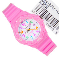 Casio Analog Quartz Pink Ladies Sports Watch LRW-200H-4B2VDF LRW200H