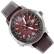 Citizen Eco-Drive Promaster Sky Mens WR200m Brown Watch BJ7010-17W