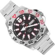 Seiko 5 Automatic WR100m Monster Lite Sports Mens Watch SRP485K1