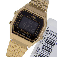 Casio Illuminator Digital Watch LA680WGA-1BDF LA680WGA-1B