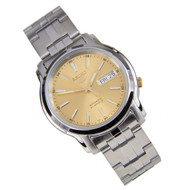 Seiko 5 Automatic Gold Dial Watch SNKL81K1 SNKL81