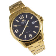 Orient Automatic Analog Gold Stainless Gents Dress Watch ER2D00BB