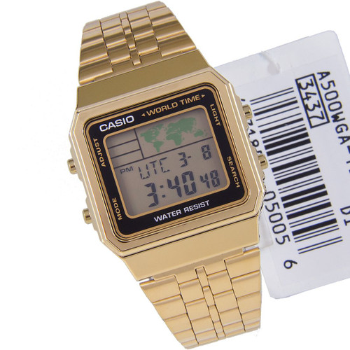 A500WGA-1DF A500WGA-1 Casio Quartz Digital Unisex Watch