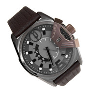 PL14340JSUBN/61 POLICE KATAR WATCH