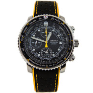 Seiko SNA411P1 SNA411 Chronograph Pilot Mens Watch with 2 Straps