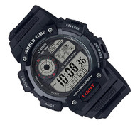 Casio Alarm Mens Watch AE-1400WH-1A AE-1400WH-1AVDF