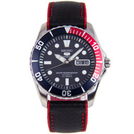 Seiko 5 Sports Automatic Watch SNZF15K1 with Hybrid Strap